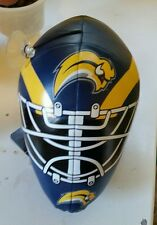 NHL Buffalo Sabres Plush Goalie Helmet with suction cup hanger