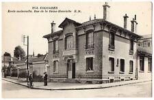 CPA 92 - COLOMBES (Hauts de Seine) - Ecole Maternelle, rue de la Reine-Henriette