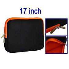 "Soft Sleeve Zipper Case bag custodia morbida neoprene cerniere pc portatile 17"""