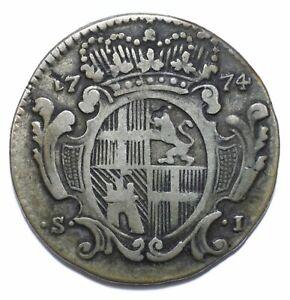 1774, Order of Malta, 1 Scudo, Francisco Ximenez de Texada, Silver, Lot [1596]