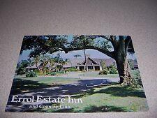 1970s ERROL ESTATE INN & COUNTRY CLUB APOPKA FLORIDA VTG POSTCARD