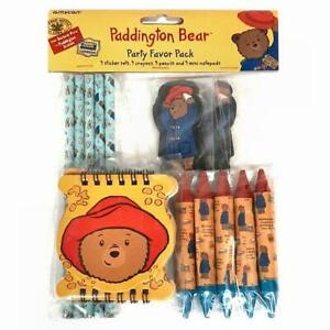 Paddington Bear Party Stationary Pack,160 PCS,Notepads,Pencils,Stickers,Crayons