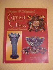 1999 Book, DUGAN & DIAMOND CARNIVAL GLASS, 1909-31 by Burns; ID & VALUEs