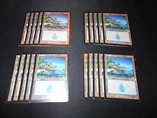 MTG 3 Color  Basic Land Lot 500 +  Islands/ Mountains/ Plains 180 of each!