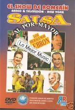 NEW  DVD EL SHOW DE ROMERIN SALSA AL POR MAYOR