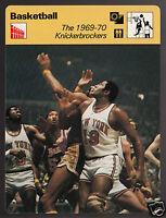 1969-1970 NEW YORK KNICKS Willis Reed Basketball 1977 SPORTSCASTER CARD 05-19