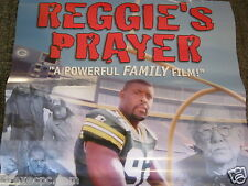 REGGIE'S PRAYER GREEN BAY PACKERS VINTAGE MOVIE POSTER