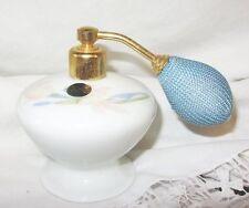 flacon à parfum en porcelaine Tarlina poland monture dorée à l'or fin atomiseur