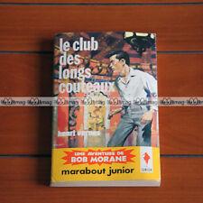 BOB MORANE Henri Vernes CLUB DES LONGS COUTEAUX 62 BM10