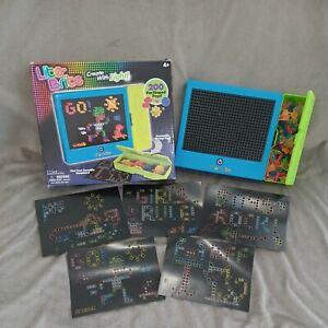 LITE Brite Magic Screen Light Bright Set Light Bright Toy Preowned EUC Works!