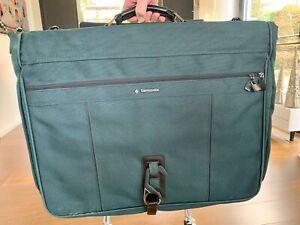 Hochwertiger Samsonite Kleidersack, dunkelgrün, wie neu