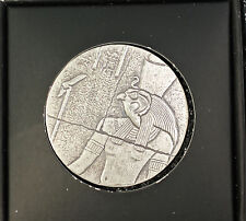 2016 Republic of Chad 1000 Francs Relic Pharaoh Ancient Like Poured Silver Coin