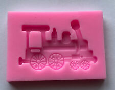 Train silicone mold Chocolate Cake Candy Cupcake Baking Tools Supplies vehicle