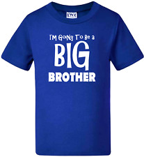 Kids t-shirts Funny tee I'm going to be a  BIG BROTHER - Pregnancy Announcement