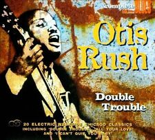 Double Trouble by Otish Rush (CD)