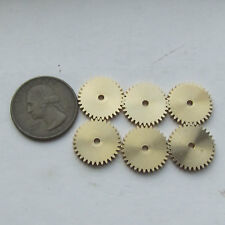 6PCS Brass Gear for Steampunk, Altered Art (u603)