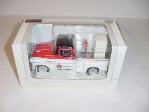 1/25 International 1957 Chevy Stepside Truck Bank W/Dolly & Refrigerator NIB!