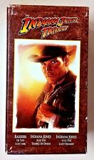 Indiana Jones Trilogy (Box-Set 3 VHS Movies Numbered 12774) Collector's Edition