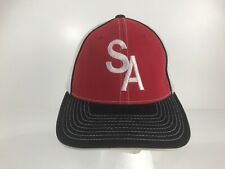 Pacific Headwear D-Series Red Fitted Baseball Cap Size 6 7//8-7 3//8-9D4