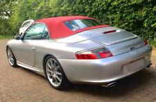 Porsche 911 996 Convertible Top Hood Burgundy HAARTZ STAYFAST Cloth 1999-2001