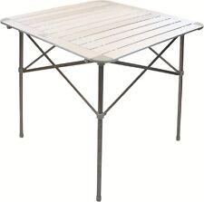 Highlander Aluminium Folding Slat Table Camping Outdoor Garden