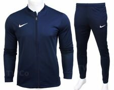 Nike Mens Full Tracksuit Zip Jacket Bottoms Pants Football Training Academy 1269 XL Navy Blue