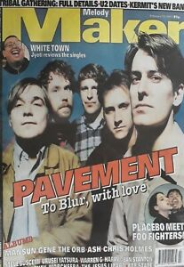 Melody Maker Music Magazine. February 15 1997.Pavement Cover.Foo Fighters/Mansun