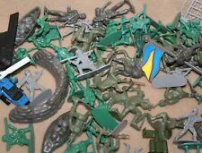 Lot of 61 Army Men w/ Accessories & Die Cast Aircraft