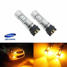 2 Ampoules PW24W PWY24W 10W LED Jaune FEUX DE JOUR VW GOLF PASSAT CC 13+
