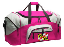 Maryland Duffle Ladies Travel Bag or Gym Duffel WELL MADE! - LOADED W/ POCKETS!