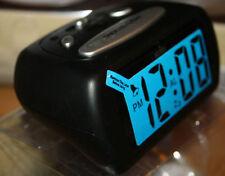 Sveglie e radiosveglie nero in plastica 24 ore