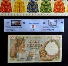 (FR), Billet de banque, 100 Francs , Sully , Année : 1940.