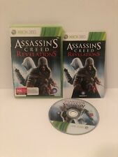 Assassin's creed revelations Xbox 360 Game Rated MA PAL Includes Manual
