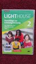 Lighthouse 2 Vorschläge zur Leistungsmessung Klassenarbeiten Schulaufgaben