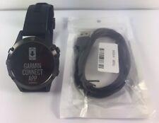 Garmin Fenix 5 Slate Grey Wrist HR Watch Black Band GPS Multi Sport Fitness