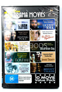 10 MORE DRAMA MOVIES - VALUE PACK - Rare DVD Aus Stock New Region ALL