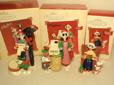 Hallmark Maxine Sound Ornament Lot 3: Crabby Mall-idays, Don't Do Jolly, Caroler