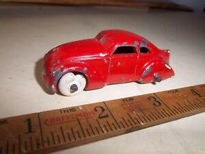 "Vintage 1930's Barclay Toys 3"" Futuristic Looking Car Only Slush Cast"