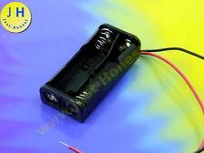 Batterie support Battery Holder 2 x AAA (r3) Aku Battery socle/socket #a1792
