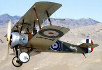"Model Airplane Plans (FF): KeilKraft SOPWITH CAMEL 16"" Rubber-Powered"