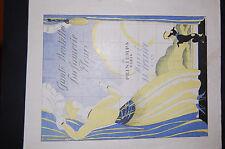 Catalogue  Printemps , Gants, dentelles, parfumerie et Fleurs 1922