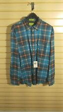 St Johns Bay Mens dress shirt Multi colored size large 2 way stretch button up