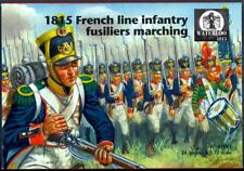Waterloo 1815 Miniatures 1/72 1815 FRENCH LINE INFANTRY FUSILIERS MARCHING Set