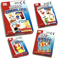 CHILDRENS TRADITIONAL CARD GAME HAPPY FAMILIES SNAP CHRISTMAS STOCKING FILLER