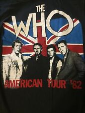 The who 1982 Tour T-shirt