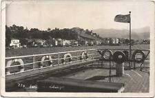 Turkey, Izmir, Göztepe, View from a Ship, Old Photo Postcard