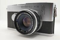 [EXC+5] OLYMPUS Pen F Half Frame Camera Body F.Zuiko Auto-s 38mm f1.8 Lens Japan