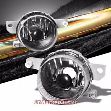 Clear Lens Chrome Housing Bumper Fog Light/Lamp For Honda 93-95 Civic del Sol