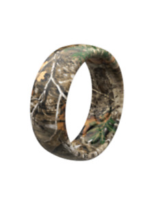 NEW Groove Men's Realtree Camo silicone wedding band 9 10 11 12