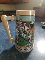 Budweiser Baseball Stein 1990 americas favorite pasttime